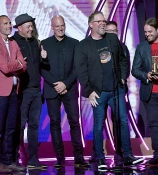 MercyMe Wins Big at 2018 K-LOVE Fan Awards, Capturing Film Impact, Song Of The Year,  Group of the Year and Artist Of The Year