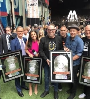 MercyMe Takes Over FOX & Friends